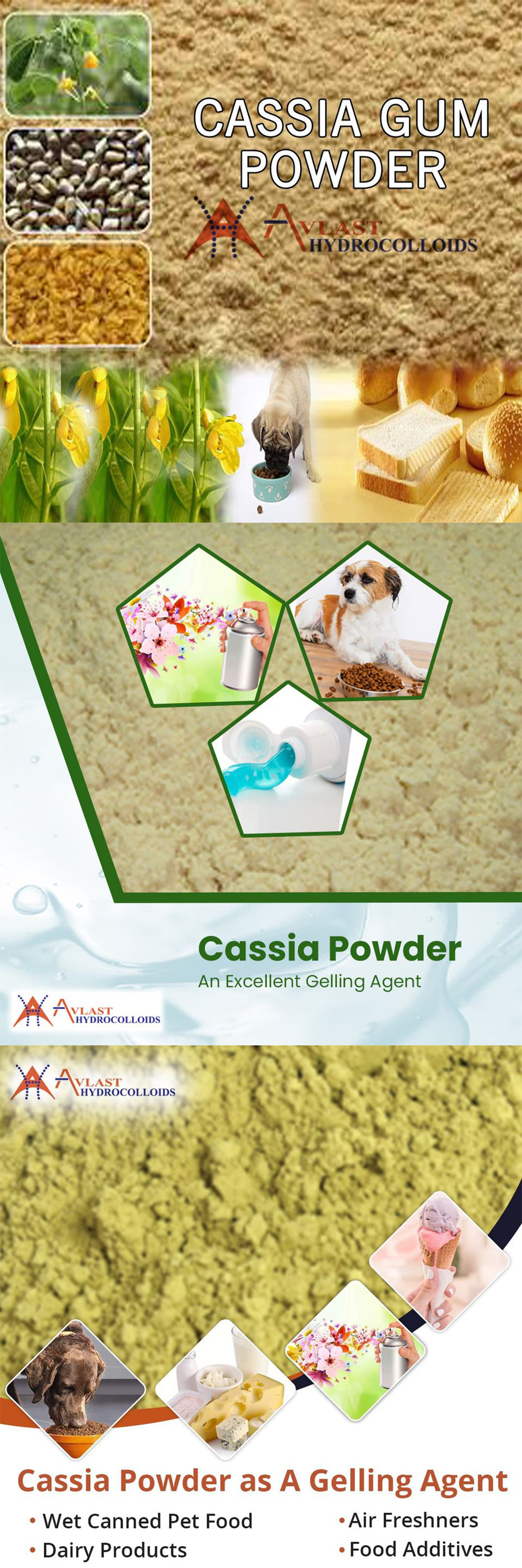 Cassia Gum Powder Usage in Preparing Air Fresheners