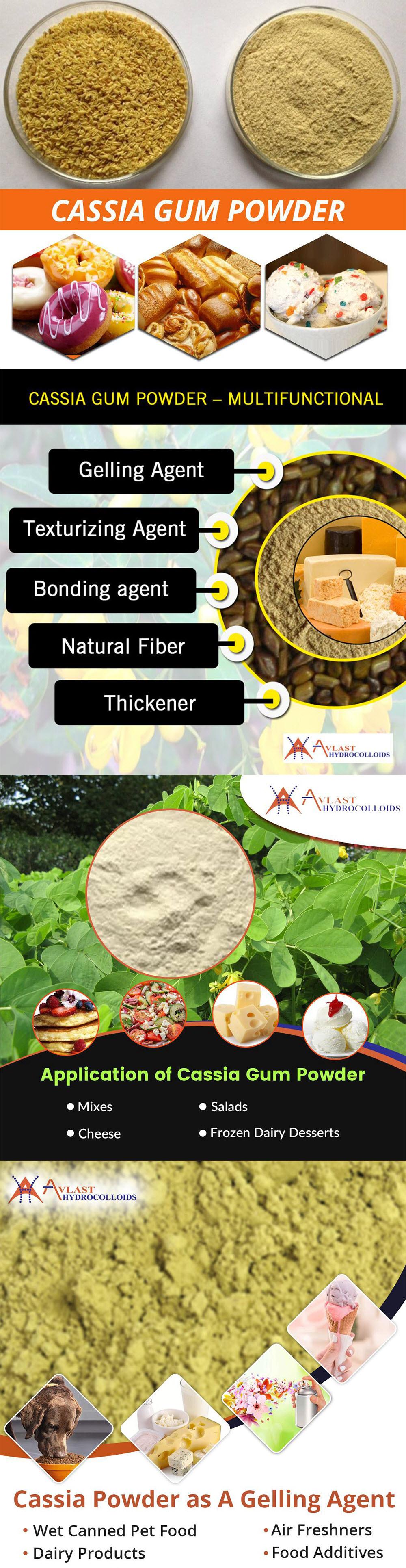 Cassia Gum Powder's Application in Food Industries